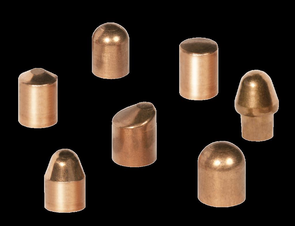 Elektrody nasadkowe do zgrzewania punktowego