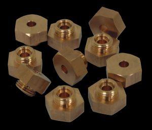 Electrode for nut welding